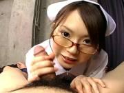 Yuri Kousaka plays nurse